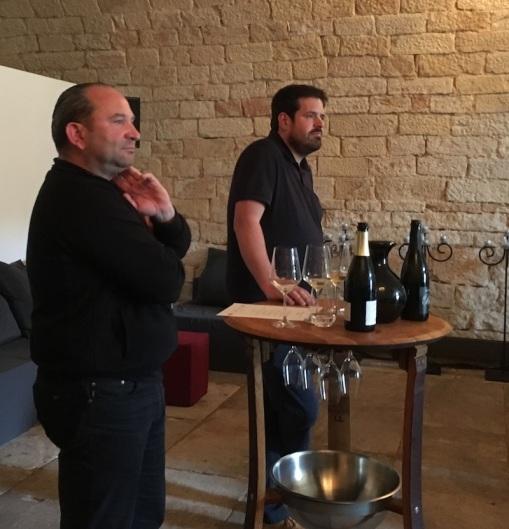 Oliver Zeter und Markus Schneider beantworten Fragen