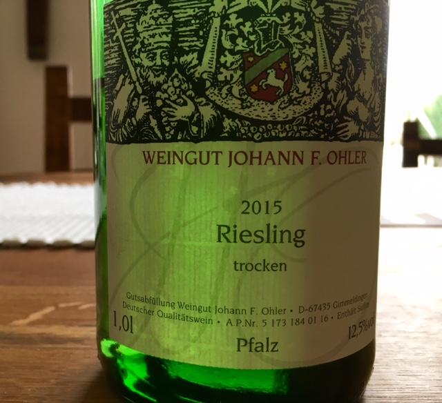 2015RieslingTrocken_Ohler