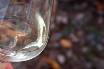 Wein auf Schiefer